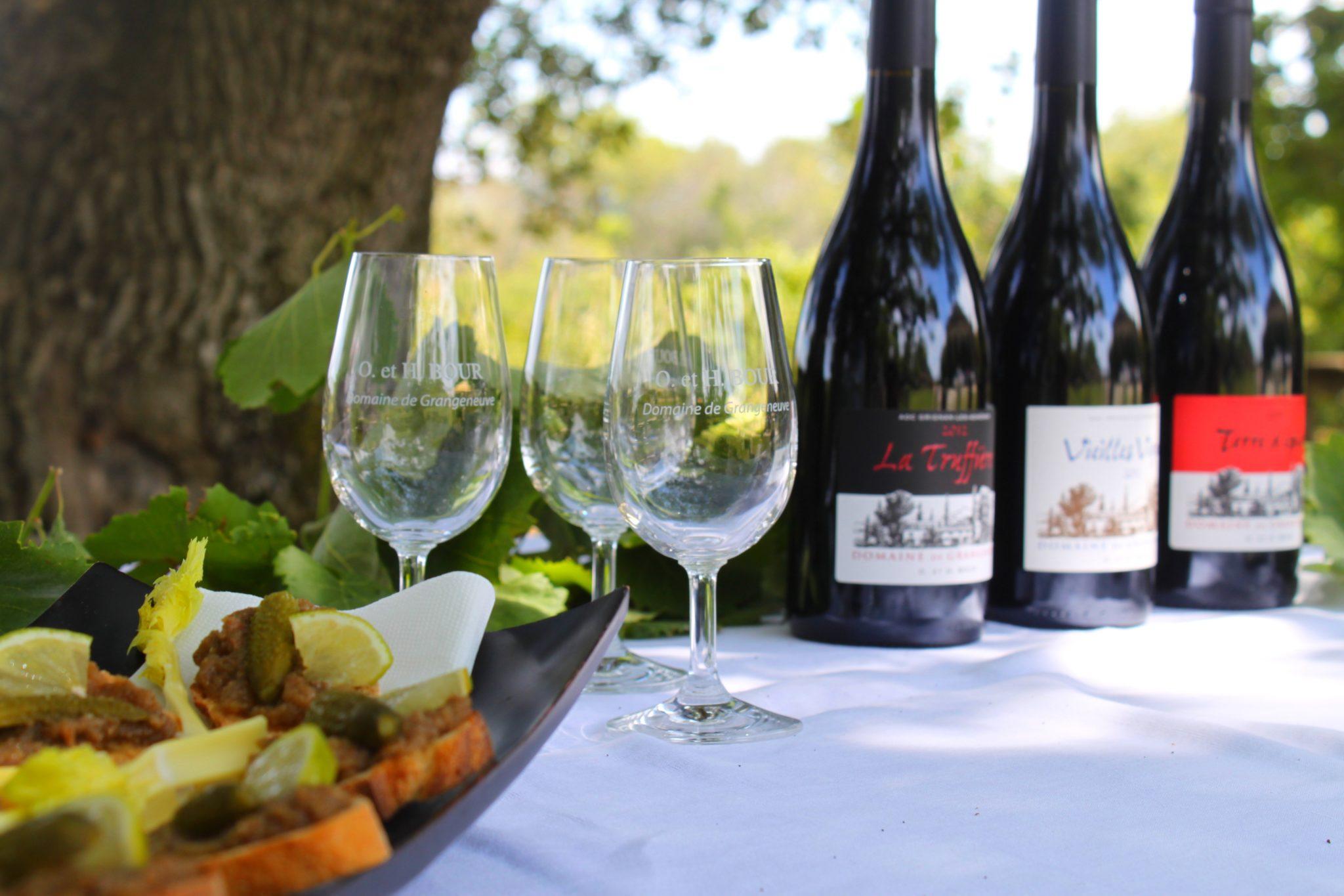 Déguster les vins de nos domaines - Drôme Provençale