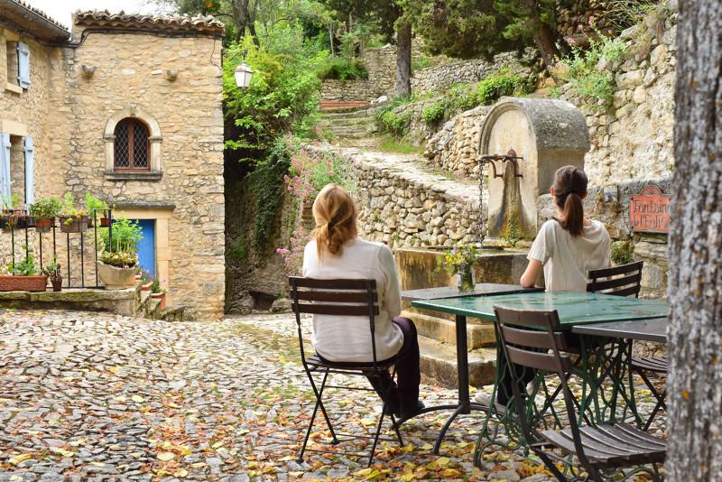 Montbrun-les-Bains, PNR des Baronnies - Drôme Provençale© J. Damase/Auvergne-Rhône-Alpes Tourisme