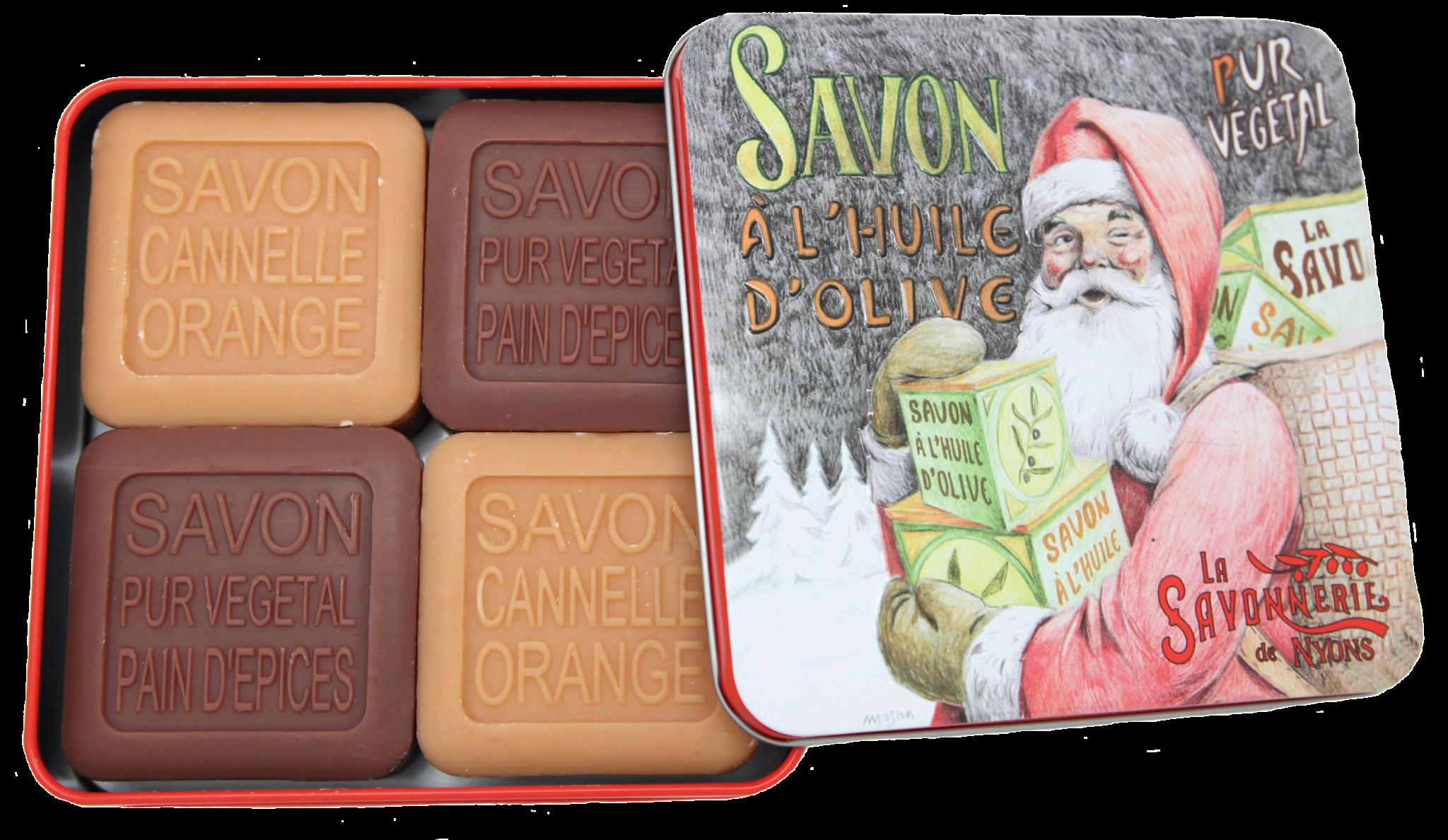 Pour Christiane - Grande tante coquette un coffret de savon de Noël Made by la Savonnerie de Nyons