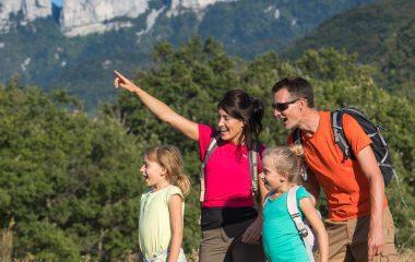famille randonnée