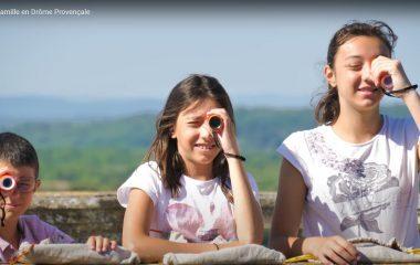 itinérance famille drôme provençale