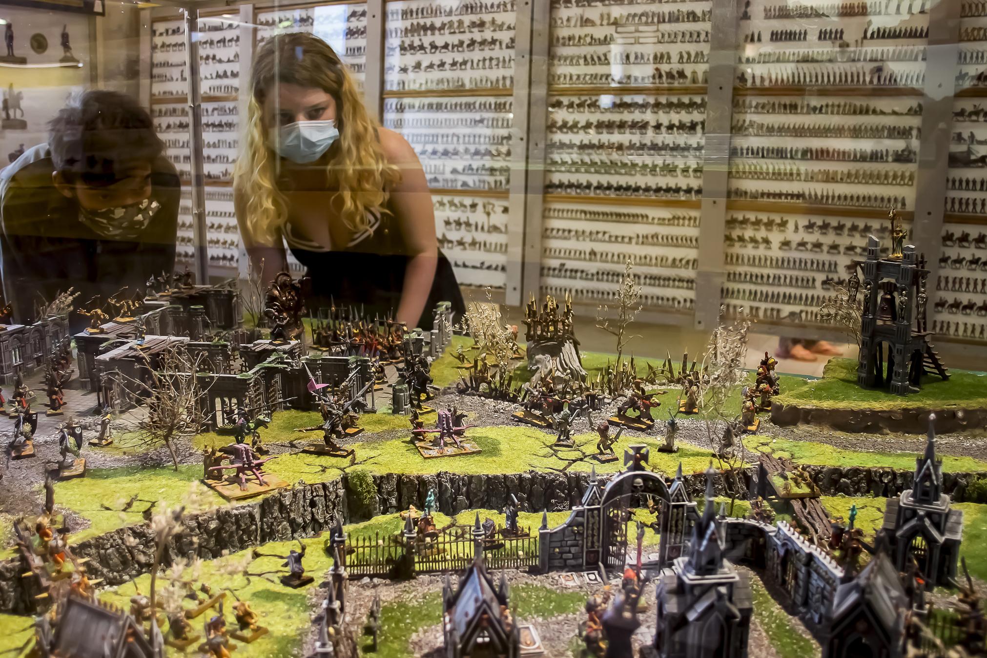 Musée de le Figurine de Tulette - Diorama Warhammer