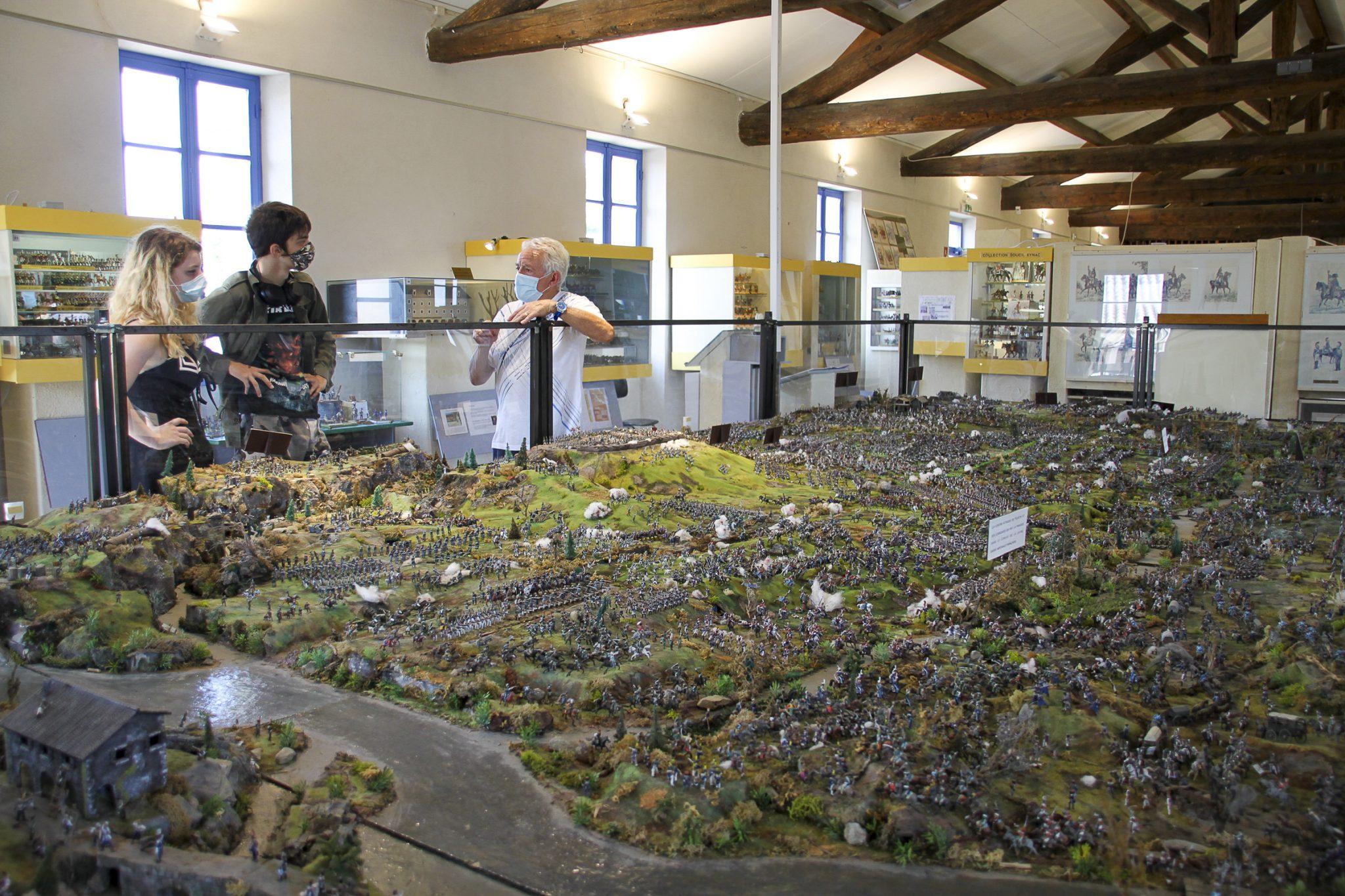 Musée de la figurine de Tulette - Diorama de la bataille de Borodino