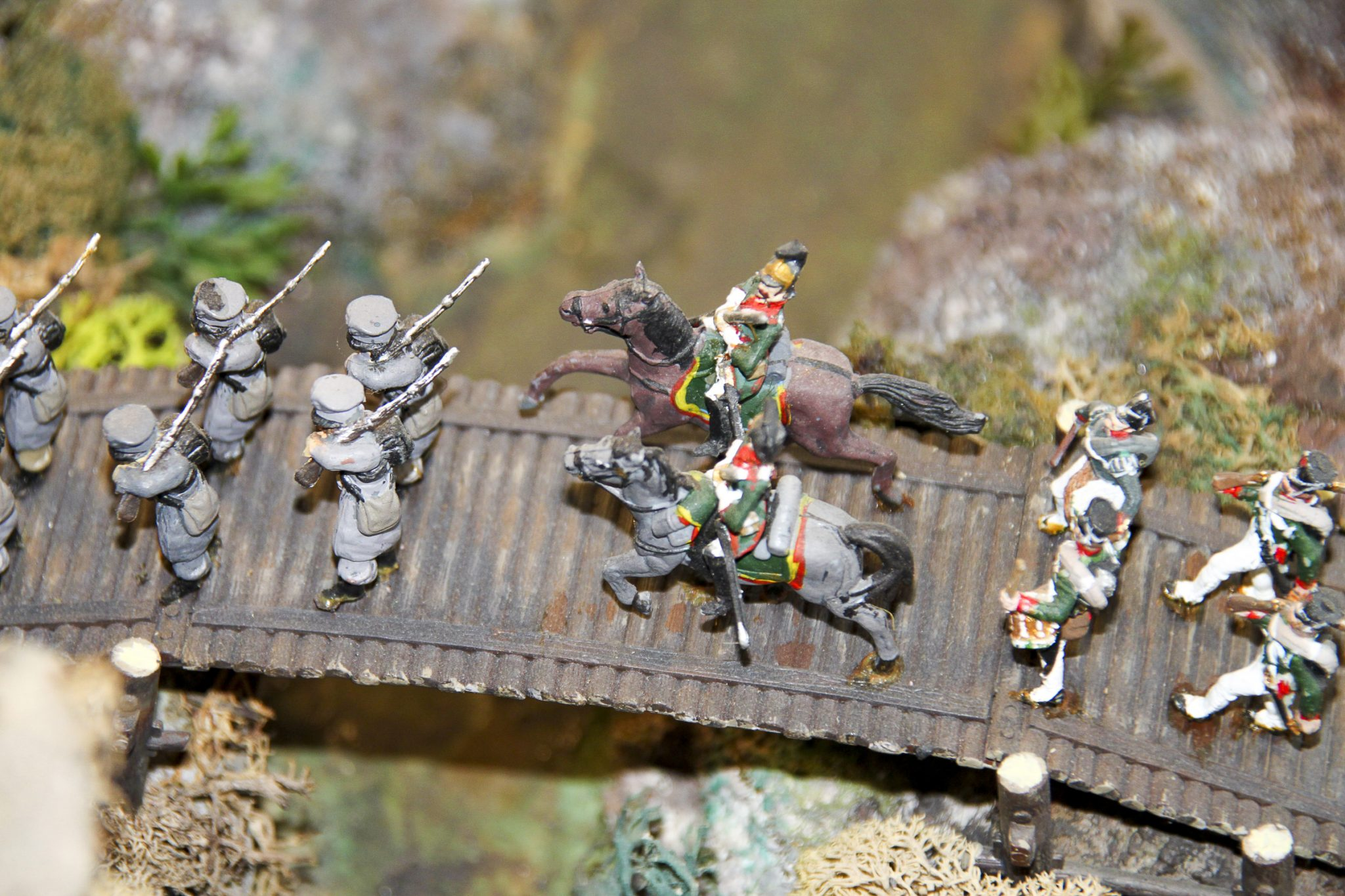 Musée de le Figurine de Tulette - Détail : Bataille de Borodino
