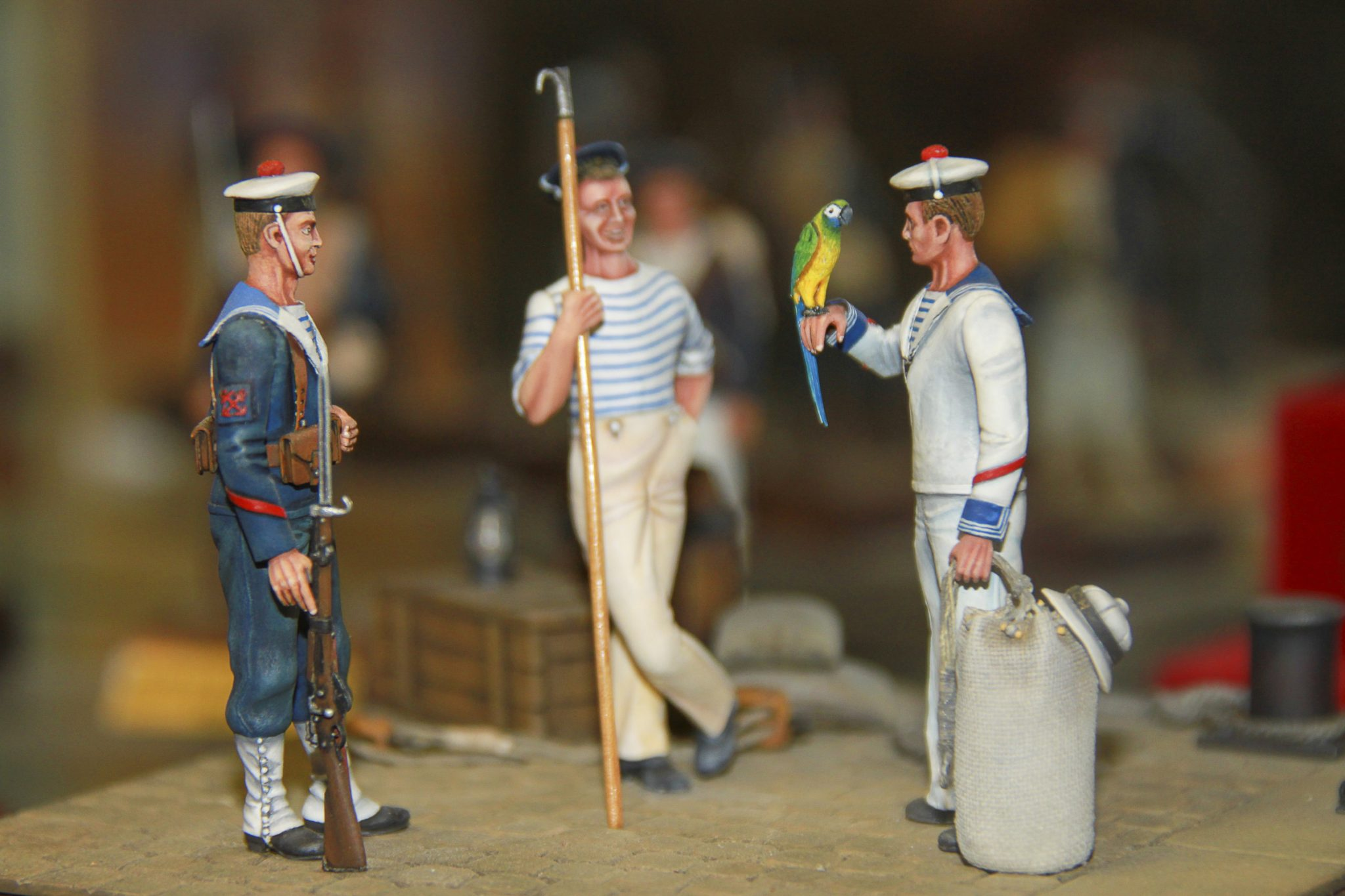 Musée de le Figurine de Tulette - Figurine réalisée par Jean Journot