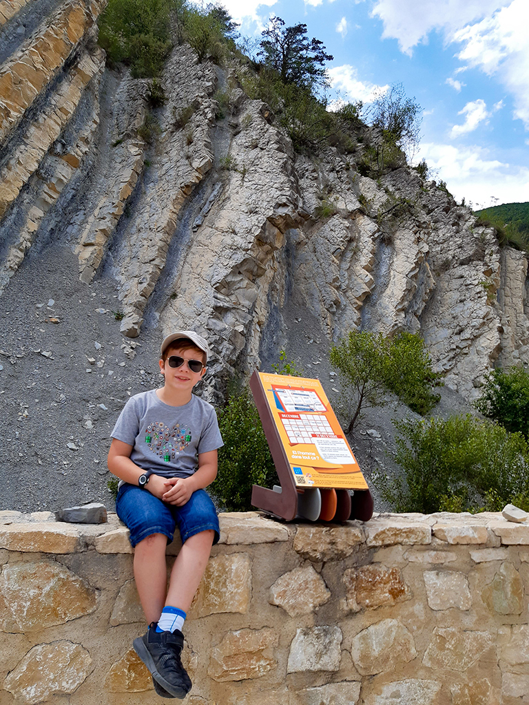 Site géologique de la Charce - ©SCScorbiac
