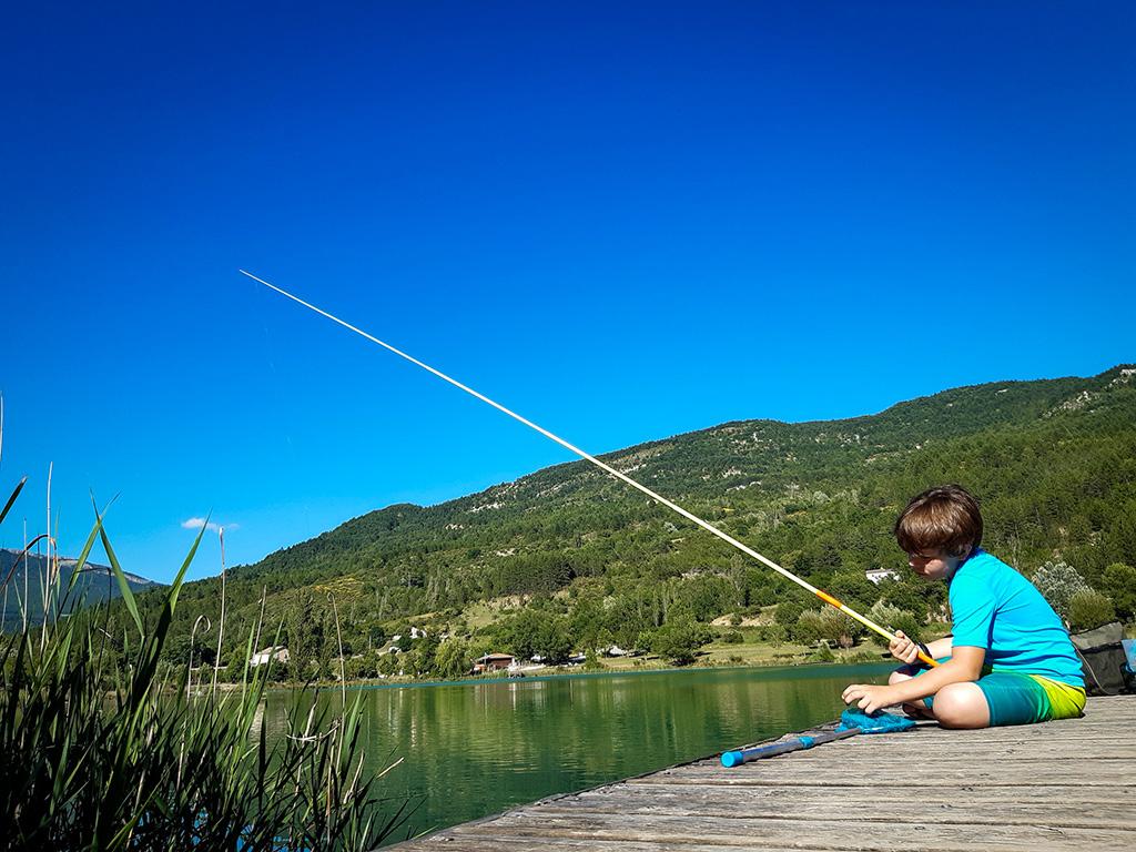 Pêche au lac de cornillon sur l'oule -©SCScorbiac