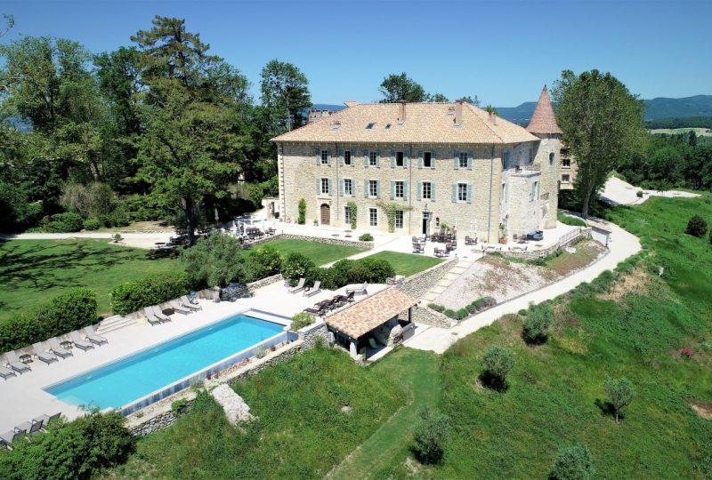 Restaurant Château les Oliviers de Salettes à Charols - 14