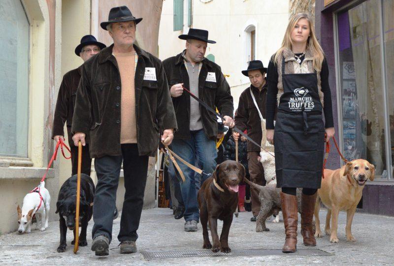 Ouverture du Marché aux Truffes Noires du Tricastin à Saint-Paul-Trois-Châteaux - 1