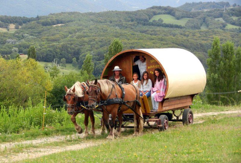«Grain de Bohème» 2 jours et 1 nuit en roulotte itinérante à Le Poët-Célard - 4