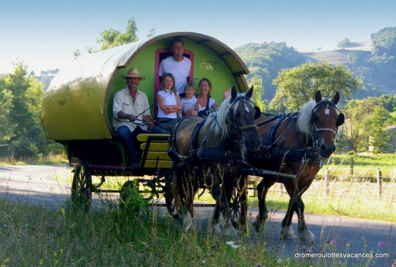 «Evasion bohème» : balade et nuit en roulotte à Le Poët-Célard - 2