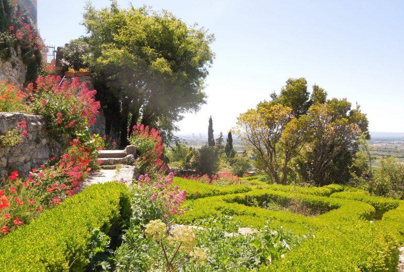 Jardin des Herbes – Jardin communal classé «Remarquable» à La Garde-Adhémar - 3