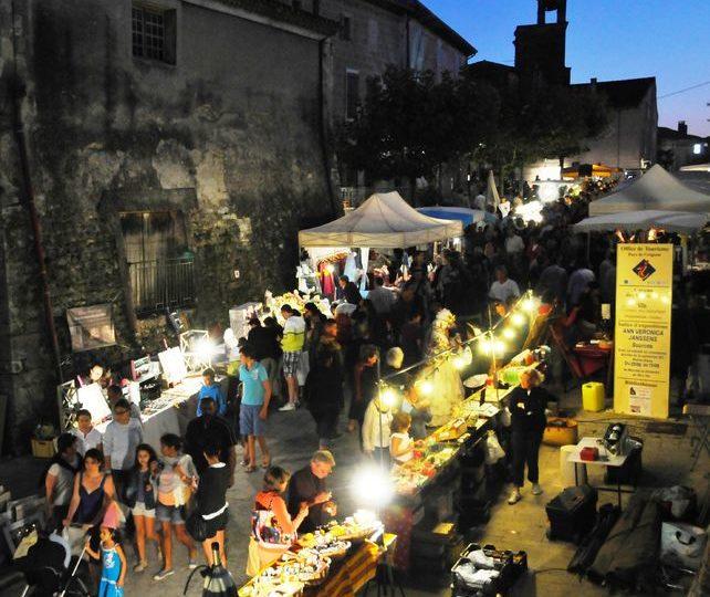 Marché Nocturne Artisanal à Grignan - 0