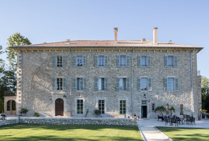 Hôtel Château les Oliviers de Salettes à Charols - 1