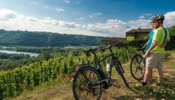 Voyage à vélo sur la ViaRhôna