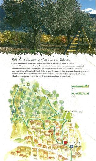 Sentier des oliviers à Nyons - 0