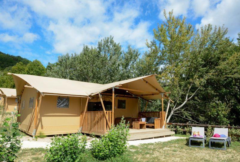 Camping les Bois du Chatelas à Bourdeaux - 2