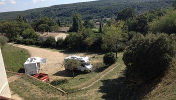 Aire Camping-cars privée Le Dôme d'Elyssas