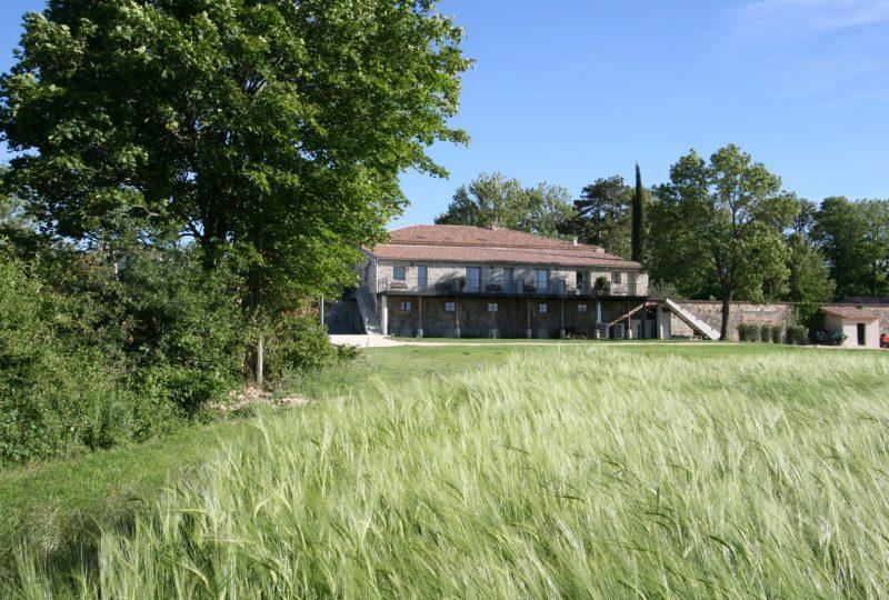 Hôtel Château les Oliviers de Salettes à Charols - 45