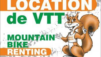 location VTT label accueil velo Arbo'magic parc de loisirs nature drome