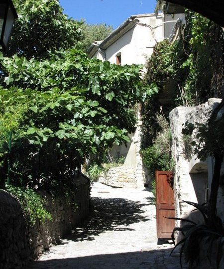 La Rue des Grands Forts à Nyons - 1