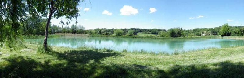 Plan d'eau du Lez à Grillon - 1