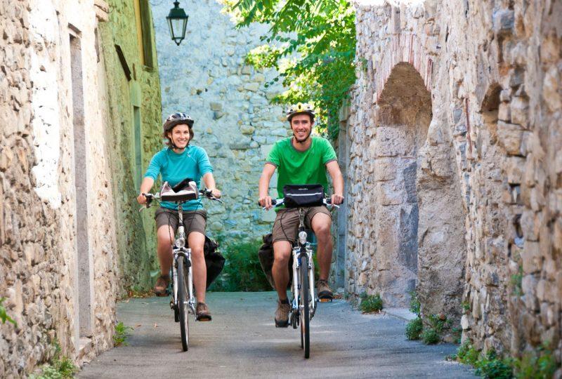 A vélo, en liberté, au pied du Mont Ventoux à Mollans-sur-Ouvèze - 2