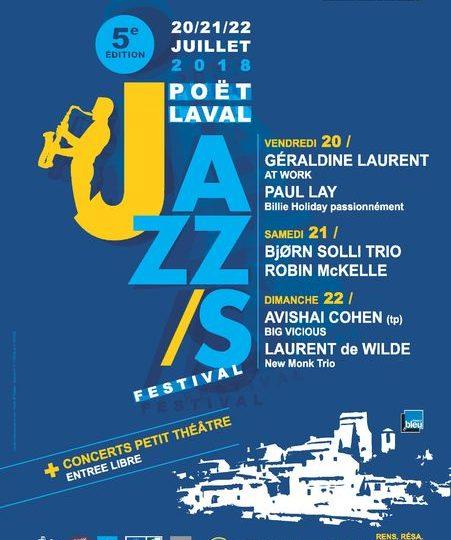 POËT-LAVAL JAZZ/S FESTIVAL 2019 à Le Poët-Laval - 0
