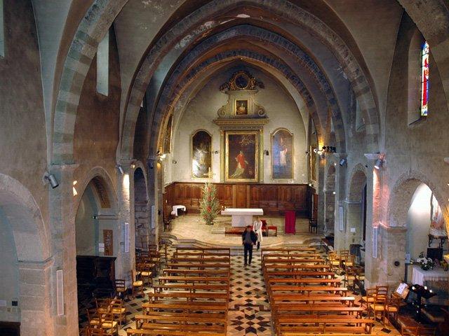 L'église Saint-Vincent de Nyons à Nyons - 2