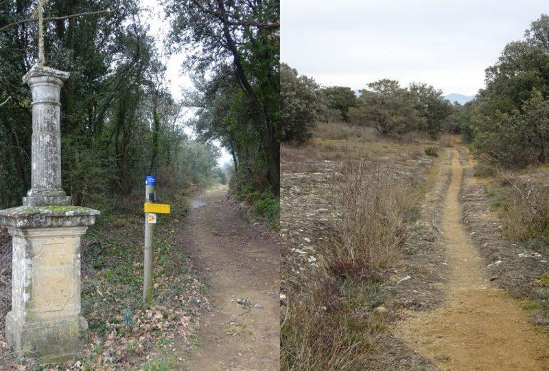 Sentier VTT La Voie Romaine à Chamaret - 0
