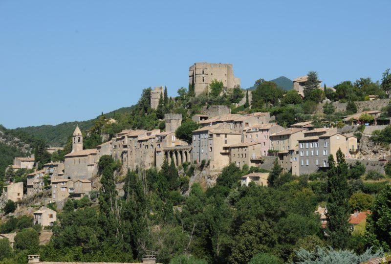 Visite guidée du village médiéval de Montbrun les Bains à Montbrun-les-Bains - 1