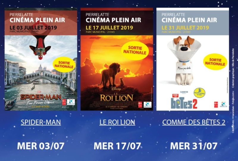 Cinéma de plein air à Pierrelatte - 0