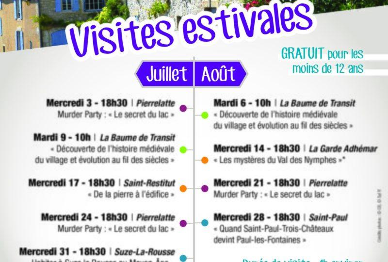 Visites estivales : «Quand Saint-Paul-Trois-Châteaux devint Paul-Les-Fontaines» à Saint-Paul-Trois-Châteaux - 0