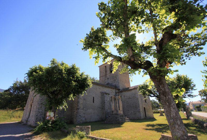 Visite guidée de l'église et la chapelle de Sainte-Jalle à Nyons - 0