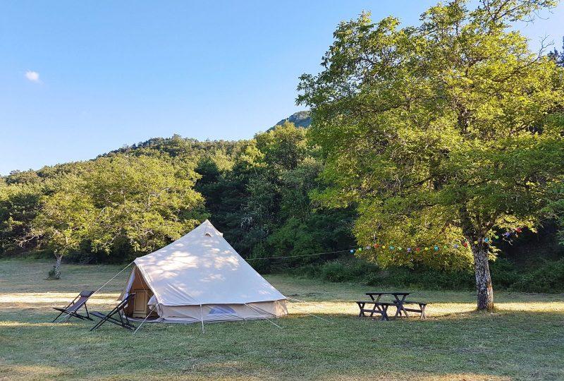 Les Glamping Lodges Nature de La Ferme de Clareau à La Motte-Chalancon - 2