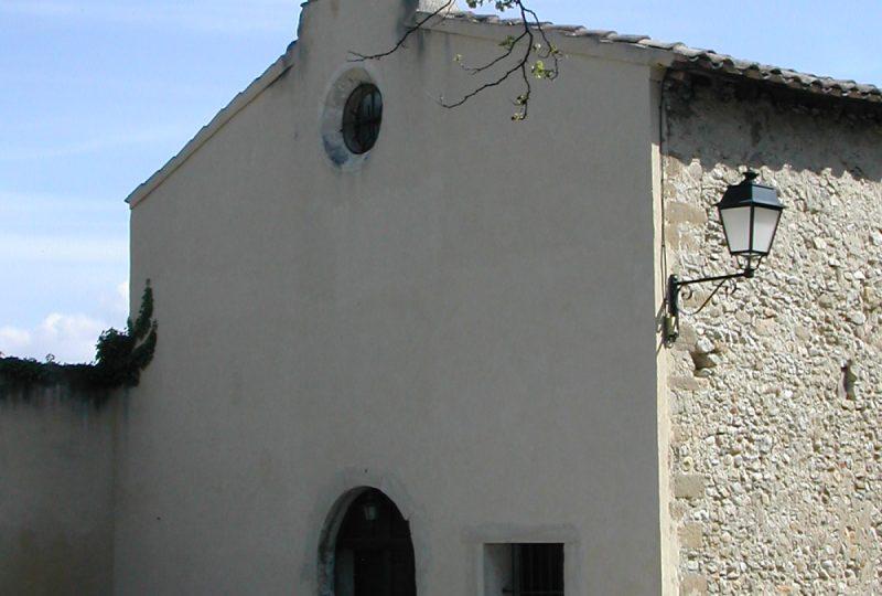 Chapelle des Pénitents Blancs à Valréas - 1
