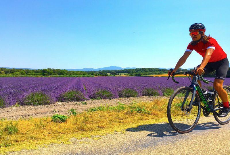 Voyage à vélo Traversée de la Drôme à Mirmande - 1