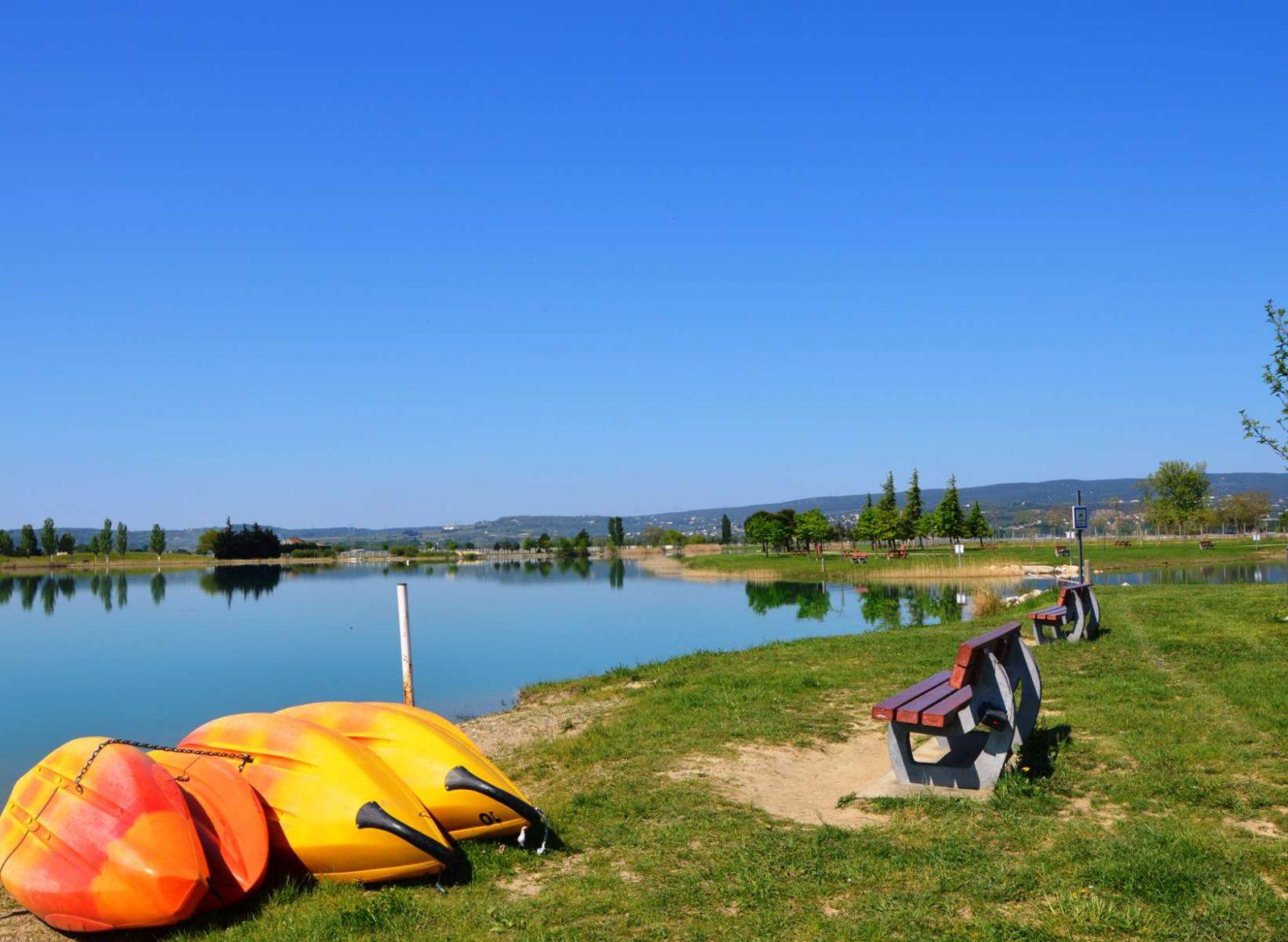 Lac de pignedoré Pierrelatte
