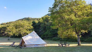 Camping – Ferme de Clareau – La Motte Chalancon