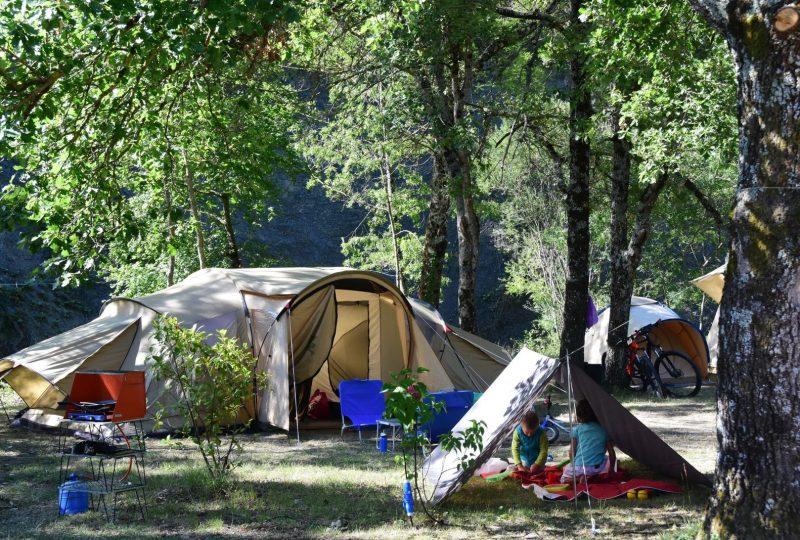 Camping la Source du Jabron – Sites & Paysages à Comps - 1
