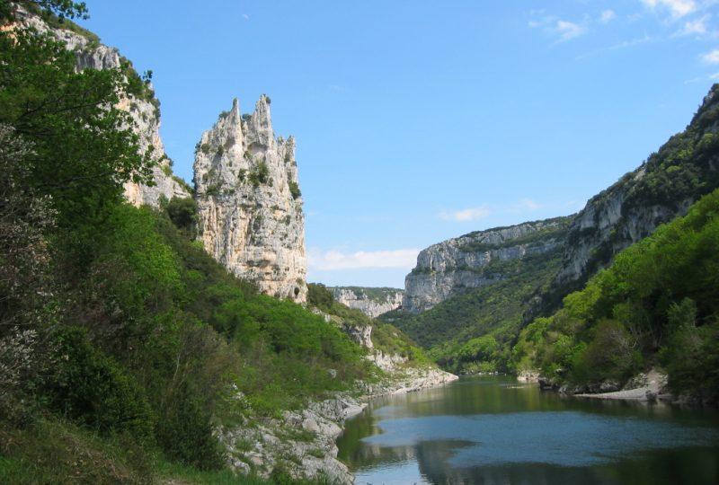 Réserve naturelle des Gorges de l'Ardèche à Saint-Remèze - 0