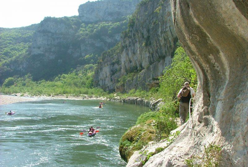 Réserve naturelle des Gorges de l'Ardèche à Saint-Remèze - 1